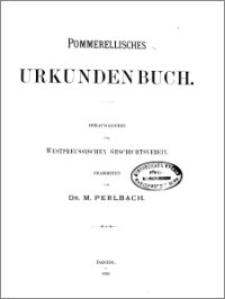 Pommerellisches Urkundenbuch