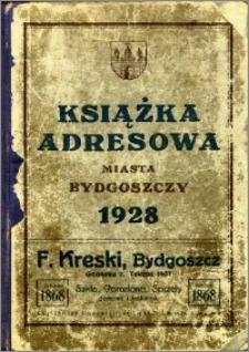 Książka Adresowa Miasta Bydgoszczy : na rok 1928