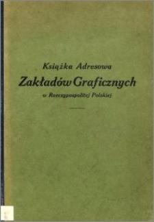 Książka Adresowa Zakładów Graficznych w Rzeczypospolitej Polskiej