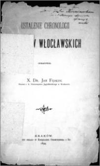 Ustalenie chronologii biskupów włocławskich