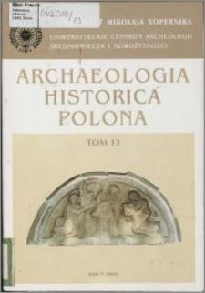 Studia z archeologii, historii i historii architektury