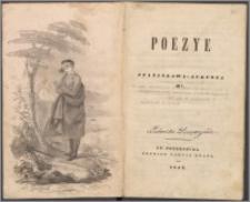 Poezye Stanisława-Augusta M*