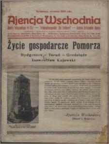 Życie gospodarcze Pomorza : Bydgoszcz - Toruń - Grudziądz - Inowrocław Kujawski