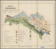 Mappa geologiczna Królestwa Galicyi i Lodomeryi : ze źródeł urzędowych