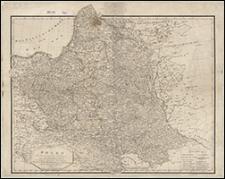 Charte von Polen : nach seiner gegenwärtigen Eintheilung in das neue Königreich Polen die übrigen Russicher Besitzungen, das Preussiche Grosherzogthum Posen, die Republik Krakau und das Königreich Galizien