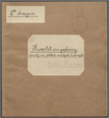 Kwartet smyczkowy (osnuty na polskich melodiach ludowych)