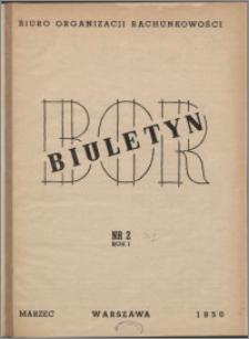 Biuletyn BOR 1950, R. 1 nr 2
