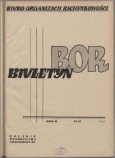Biuletyn BOR 1951, R. 2 nr 2