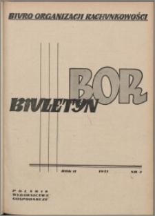 Biuletyn BOR 1951, R. 2 nr 3