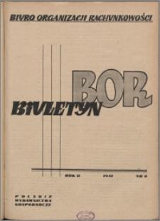 Biuletyn BOR 1951, R. 2 nr 8