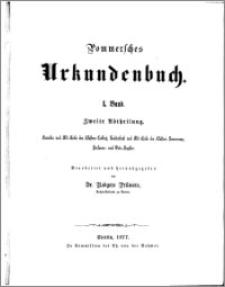 Pommersches Urkundenbuch. Bd. 1. Abt. 2, Annalen und Abt-Reihe des Klosters Colbatz, Todtenbuch und Abt-Reihe des Klosters Neuencamp, Personen und Orts-Register