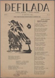 Defilada : tygodnik żołnierzy 1. Dywizji Pancernej 1944, R. 1 nr 2