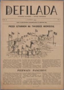 Defilada : tygodnik żołnierzy 1. Dywizji Pancernej 1945, R. 2 nr 8