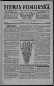 Ziemia Pomorska : pismo poświęcone obronie interesów rolnictwa, handlu, przemysłu i rękodzieła 1926.07.31, R. 2, nr 88