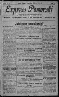 Express Pomorski : pismo niezależne i bezpartyjne 1925.01.02, R. 2, nr 2