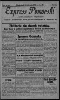 Express Pomorski : pismo niezależne i bezpartyjne 1925.01.24, R. 2, nr 24