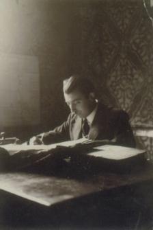 Tadeusz Esman w pracy