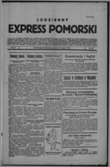 Codzienny Express Pomorski 1926.01.28, R. 2, nr 25
