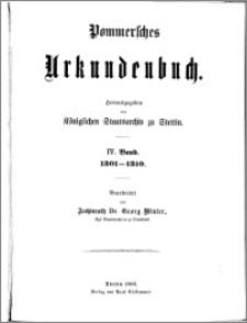 Pommersches Urkundenbuch. Bd. 4. Abt. 1, 1301-1306