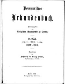 Pommersches Urkundenbuch. Bd. 4. Abt. 2, 1307-1310