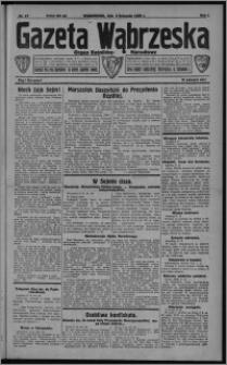Gazeta Wąbrzeska : organ katolicko-narodowy 1929.11.09, R. 1, nr 17