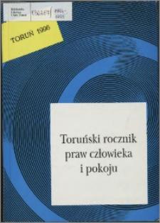 Toruński Rocznik Praw Człowieka i Pokoju, z. 3, 1994-1995