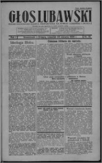 Głos Lubawski : polsko-katolicka gazeta bezpartyjna na powiat lubawski i okolice 1934.08.23, R. 1, nr 10