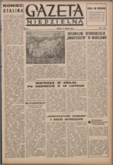 Gazeta Niedzielna 1953.03.15, R. 6 nr 11 (203)