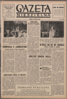 Gazeta Niedzielna 1953.04.19, R. 6 nr 16 (208)