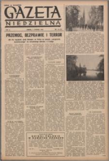 Gazeta Niedzielna 1953.08.02, R. 6 nr 31 (223)