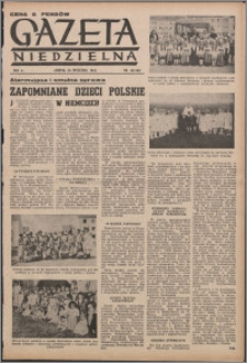 Gazeta Niedzielna 1953.09.20, R. 6 nr 38 (230)