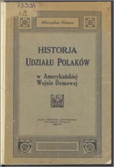 Historja udziału Polaków w amerykańskiej wojnie domowej