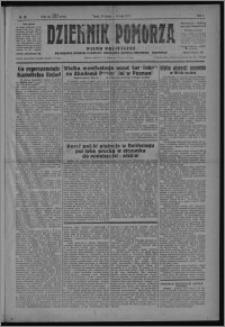 Dziennik Pomorza : pismo polityczne poświęcone obronie interesów rolnictwa, handlu, przemysłu i rzemiosła 1928.02.21, R. 1, nr 26