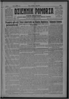 Dziennik Pomorza : pismo polityczne poświęcone obronie interesów rolnictwa, handlu, przemysłu i rzemiosła 1928.04.04, R. 1, nr 63