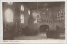 Radziejów - wnętrze klasztoru, klasztor pofranciszkański w Radziejowie