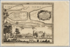 Świecie n/W. Pomorze : zamek pokrzyżacki podług litografji z roku 1655