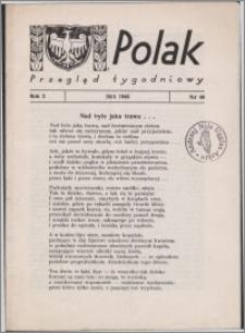 Polak : przegląd tygodniowy 1946.04.26, R. 2 nr 40 + dod. nr 20
