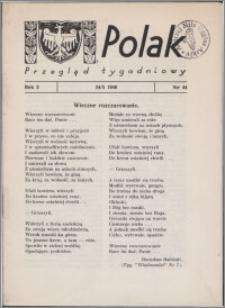 Polak : przegląd tygodniowy 1946.05.24, R. 2 nr 44 + dod. nr 24