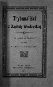 Trybunaliści z Kapituły Włocławskiej