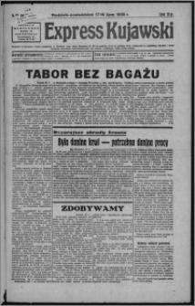 Express Kujawski 1938.07.17/18, R. 16, nr 161