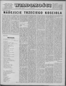 Wiadomości, R. 32 nr 1 (1606), 1977