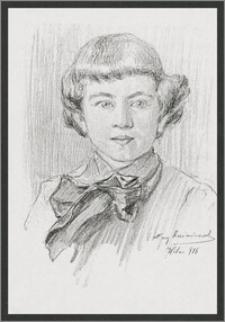 10-letni Maciej Kalenkiewicz, uczeń Gimn. im. Króla Zygmunta Augusta w Wilnie