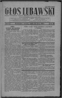 Głos Lubawski : polsko-katolicka gazeta bezpartyjna na powiat lubawski i okolice 1935.03.30, R. 2, nr 39 + Dodatek Rolniczy