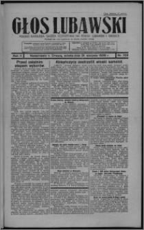 Głos Lubawski : polsko-katolicka gazeta bezpartyjna na powiat lubawski i okolice 1935.08.31, R. 2, nr 103 + Dodatek Rolniczy