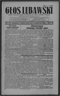 Głos Lubawski : polsko-katolicka gazeta bezpartyjna na powiat lubawski i okolice 1935.10.08, R. 2, nr 119