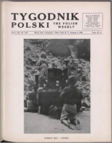 Tygodnik Polski = The Polish Weekly / Koło Pisarzy z Polski 1946, R. 4 nr 30 (187)