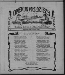 """Opiekun Młodzieży : bezpłatny dodatek do """"Głosu Wąbrzeskiego"""" 1925.02.05, R. 2, nr 5"""