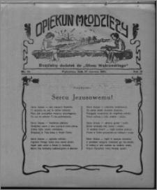 """Opiekun Młodzieży : bezpłatny dodatek do """"Głosu Wąbrzeskiego"""" 1925.06.18, R. 2, nr 24"""