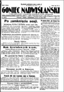 Goniec Nadwiślański 1927.07.16, R. 3 nr 160