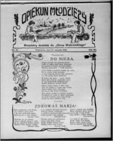 """Opiekun Młodzieży : bezpłatny dodatek do """"Głosu Wąbrzeskiego"""" 1926.08.19, R. 3, nr 33"""